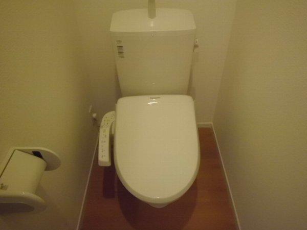アイフローラ 105号室のトイレ