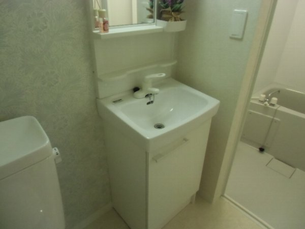 セレーノ金沢八景 101号室の洗面所