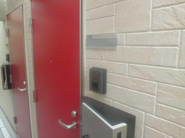 ヴィクトワール 205号室のセキュリティ