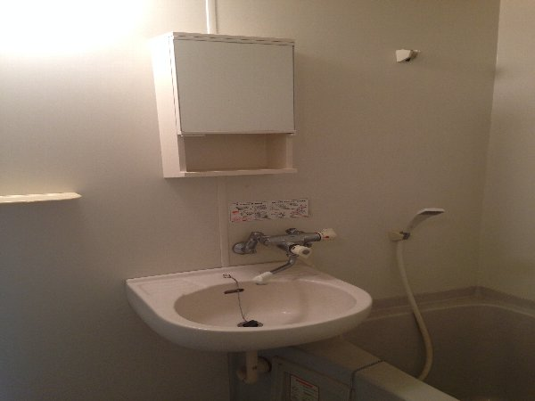 N.K.ハイツ 202号室の洗面所