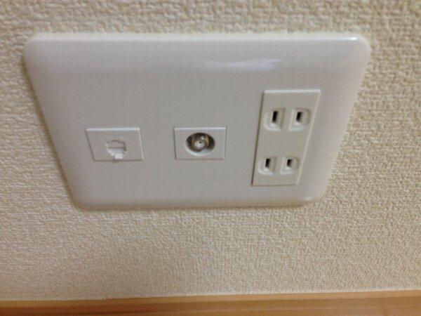 ビューレ金沢八景 102号室の設備