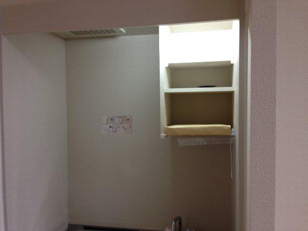 ビューレ金沢八景 102号室のキッチン