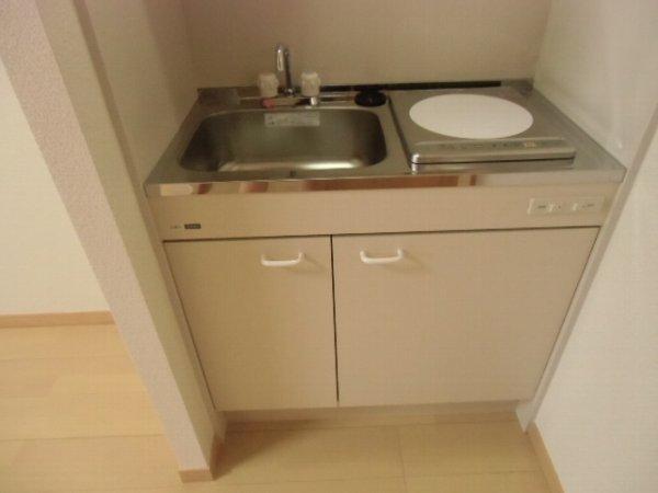 Residence hale ohana 101号室のキッチン