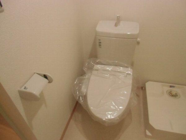 Residence hale ohana 101号室のトイレ