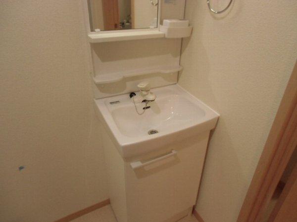 Residence hale ohana 101号室の洗面所