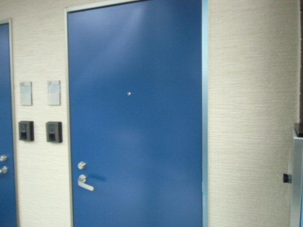 Residence hale ohana 101号室の玄関