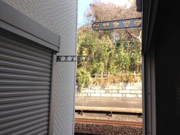 シェモア杉田 101号室のバルコニー
