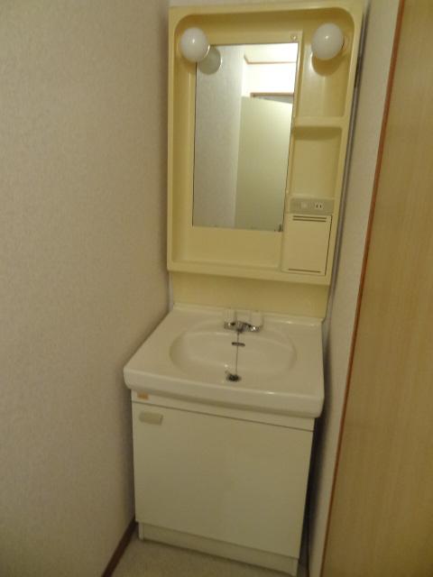 ユミサマリア 403号室の洗面所