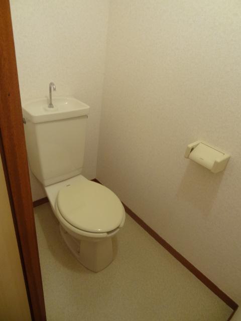 ユミサマリア 403号室のトイレ
