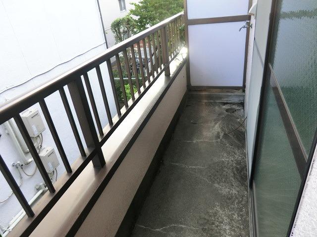 コーポ泉 202号室のバルコニー