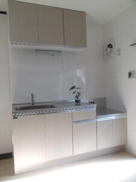 コーポオオゴE棟 103号室のキッチン