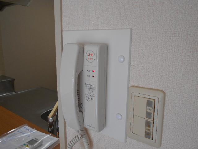 コーポレート浦和中島1号棟 401号室のセキュリティ