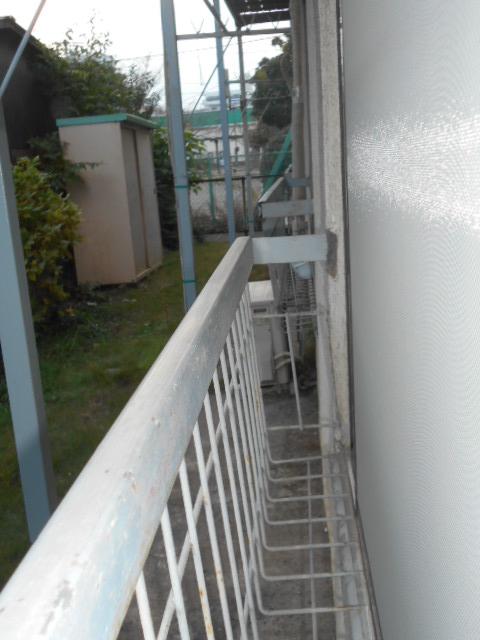 栄和荘 103号室のバルコニー
