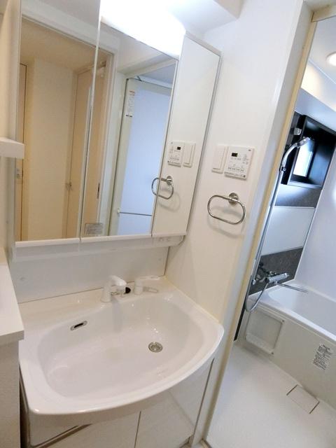 ヴィラージュ県庁前参番館 1001号室の洗面所