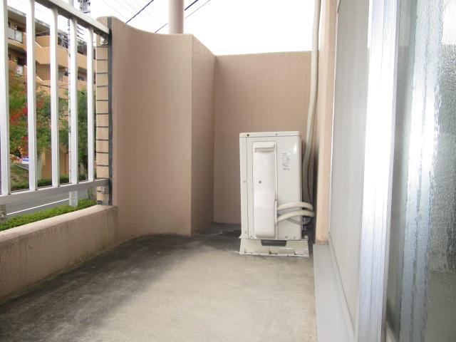 ブルースカイ 205号室のバルコニー