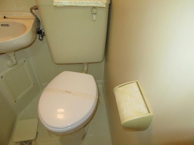 ウエストコート 305号室のトイレ