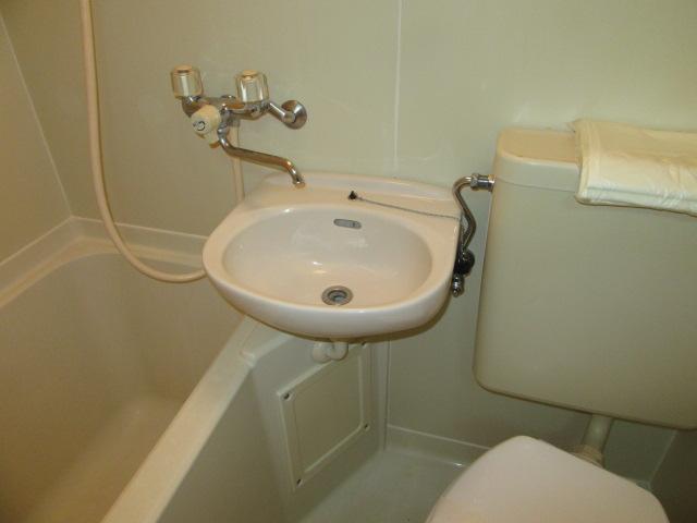 ウエストコート 305号室の洗面所