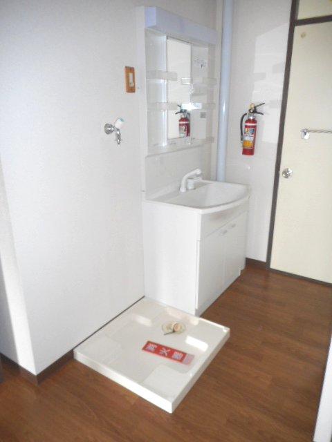 武藤ハイツⅠ 205号室の洗面所
