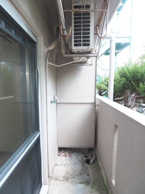 新守山カジウラマンション 1C号室のバルコニー