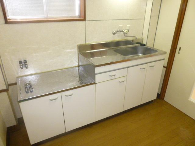 ワンステップ保木間 201号室のキッチン