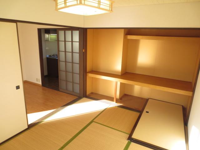 KⅢアパート 203号室の収納