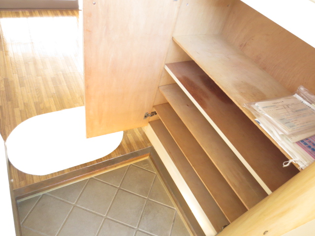 KⅢアパート 203号室の玄関