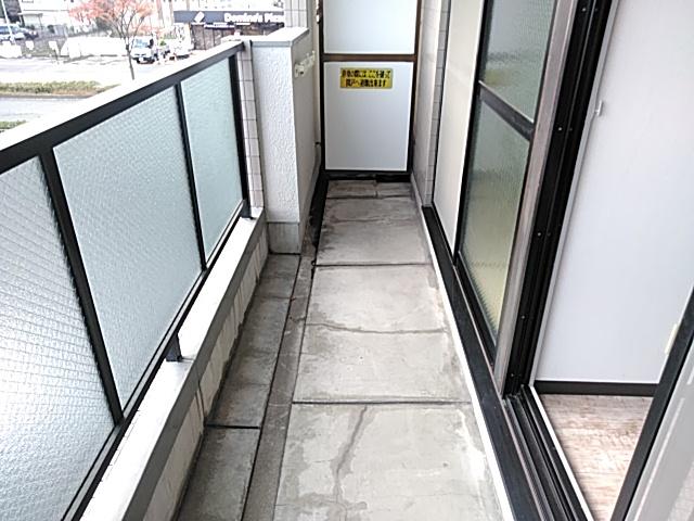 ロイヤルハイツ西沢 203号室のバルコニー