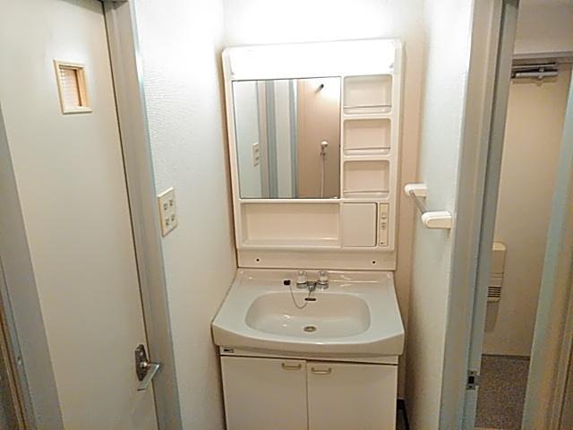 ロイヤルハイツ西沢 203号室の洗面所