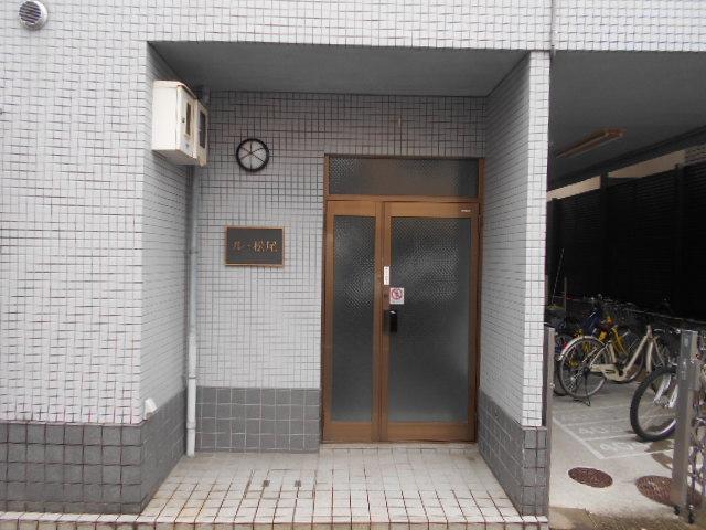 ル・松尾 402号室のエントランス