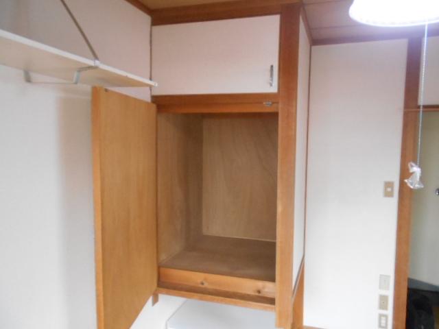 フルール御池 301号室の収納