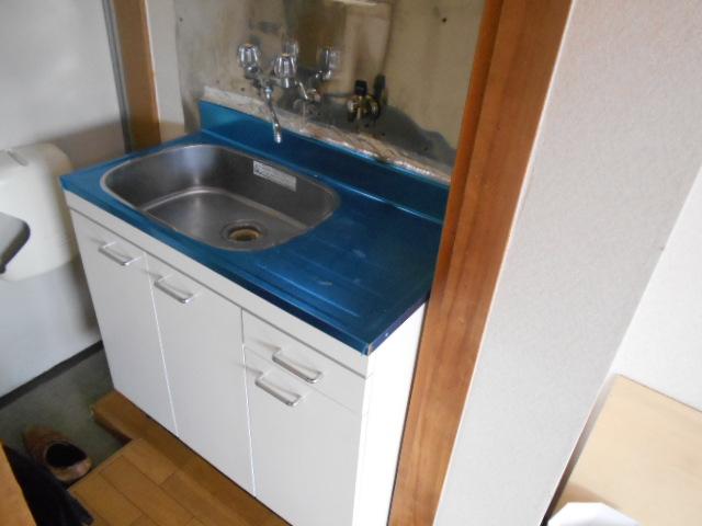 フルール御池 301号室のキッチン