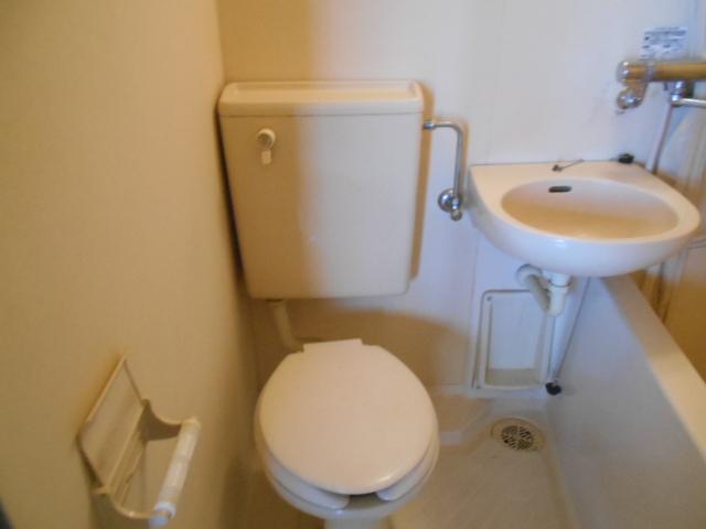 サンフローラ 501号室のトイレ