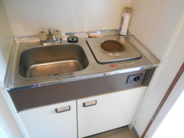 サンフローラ 501号室のキッチン