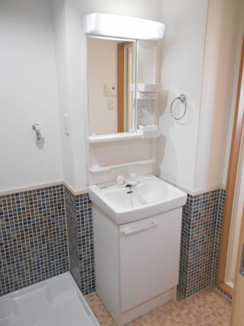 ドーリアNEXT花園 3-C号室の洗面所