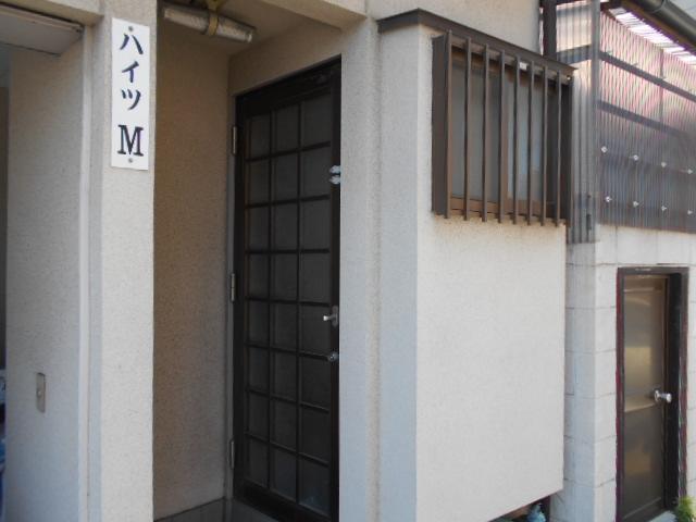 ハイツM A号室のエントランス