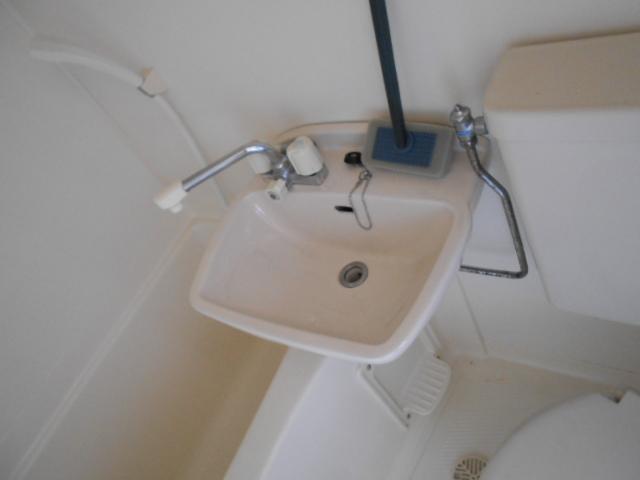 ハイツM A号室の洗面所
