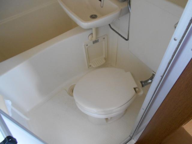 ハイツM A号室のトイレ
