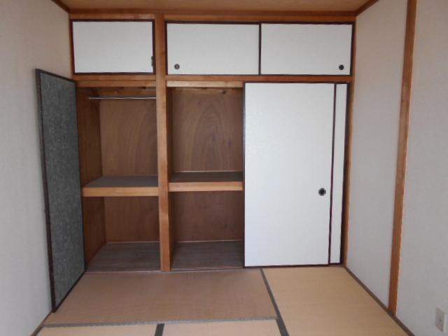 河村借家 1号室の収納