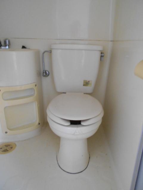 河村借家 1号室のトイレ
