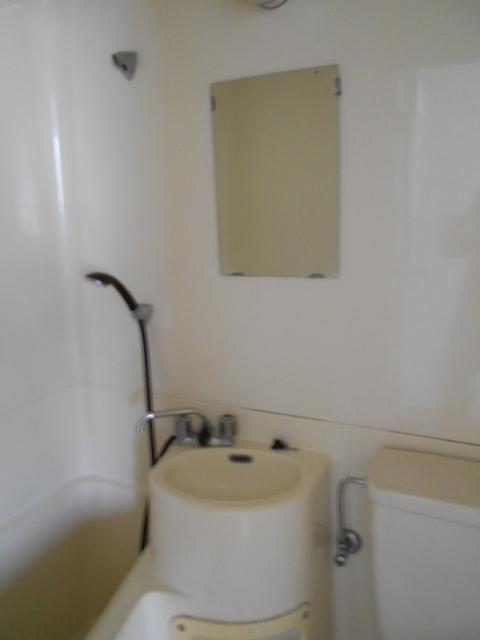 河村借家 1号室の洗面所