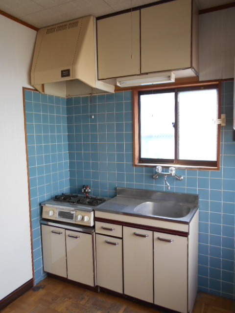 河村借家 1号室のキッチン