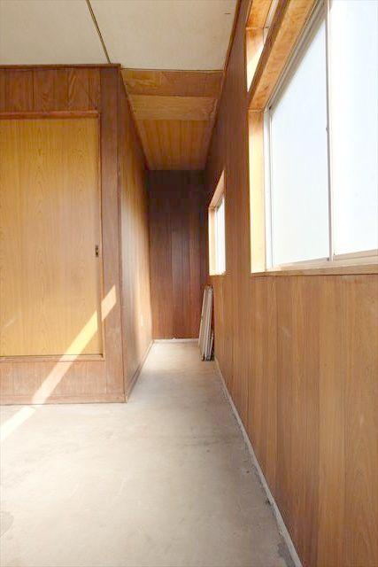 暁一丁目貸家の玄関
