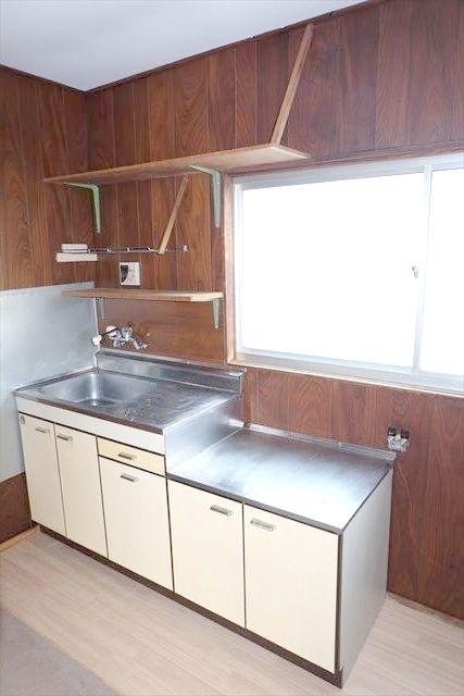 暁一丁目貸家のキッチン