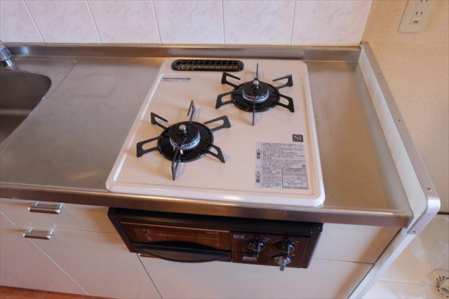 安武マンション城北 201号室のキッチン
