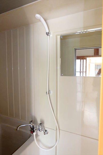 睦荘 2号室の洗面所