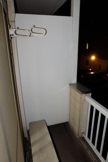 シティーペンション片柳 204号室のバルコニー