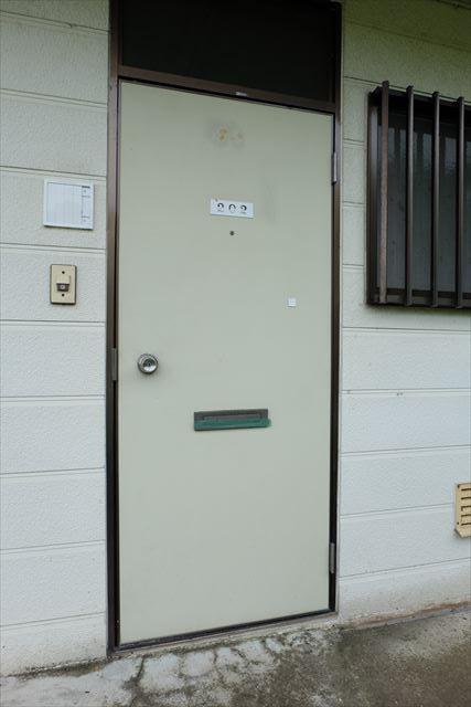 ネモトハイツ 202号室の玄関