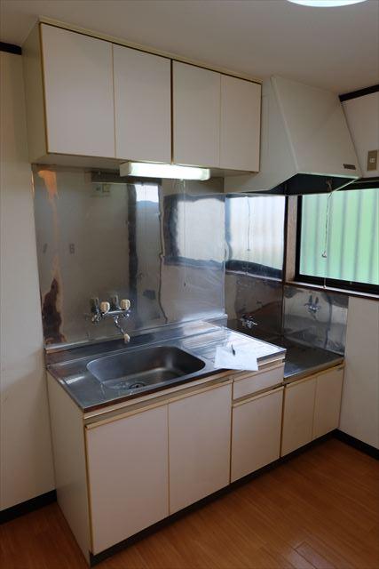 ネモトハイツ 202号室のキッチン