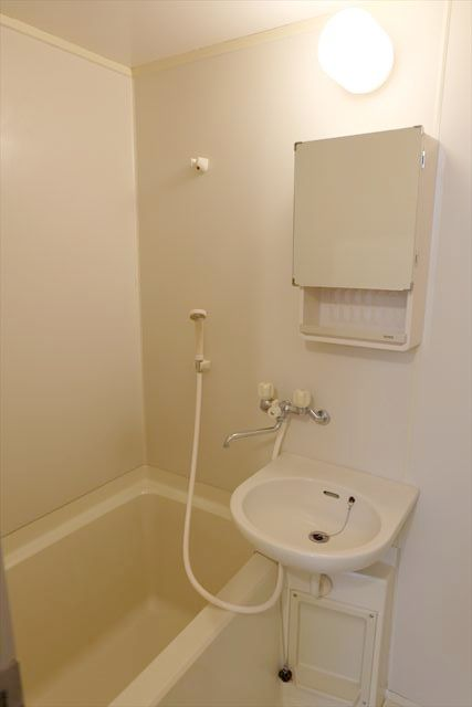 ネモトハイツ 202号室の風呂
