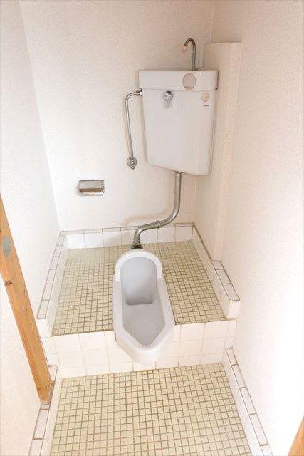 安井アパート 2号室のトイレ